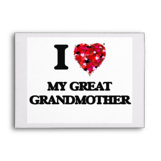 Amo a mi bisabuela sobres