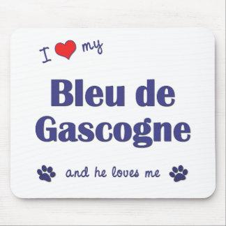 Amo a mi Bleu de Gascogne (el perro masculino) Tapete De Ratón