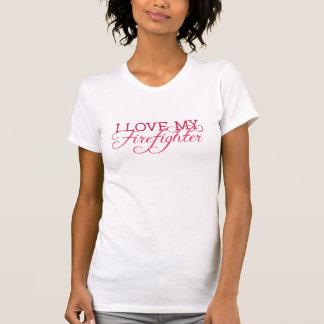 Amo a mi BOMBERO T-shirts