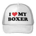 Amo a mi boxeador gorras de camionero