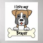 Amo a mi boxeador poster
