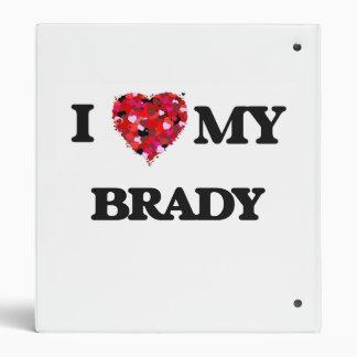 """Amo a MI Brady Carpeta 1"""""""