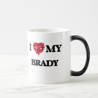 Amo a MI Brady Taza Mágica