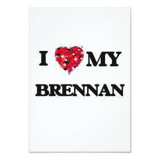 """Amo a MI Brennan Invitación 3.5"""" X 5"""""""