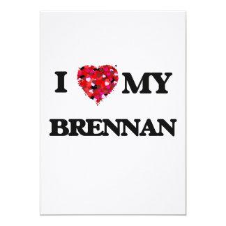 """Amo a MI Brennan Invitación 5"""" X 7"""""""