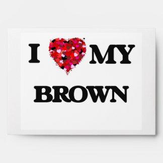 Amo a MI Brown Sobres