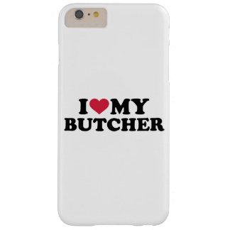 Amo a mi carnicero funda de iPhone 6 plus barely there