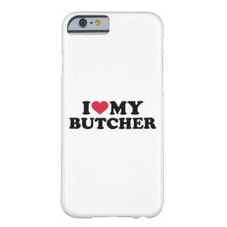 Amo a mi carnicero funda de iPhone 6 barely there