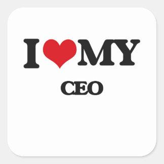 Amo a mi CEO Etiquetas