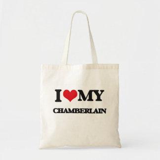 Amo a mi chambelán bolsa de mano