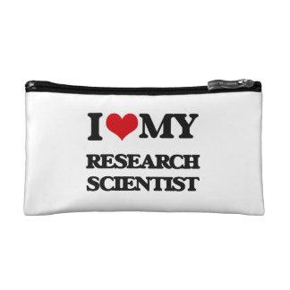 Amo a mi científico de la investigación