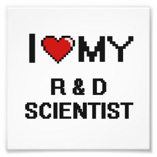 Amo a mi científico de R y de D Fotografía