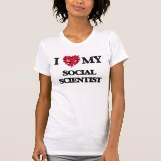 Amo a mi científico social poleras