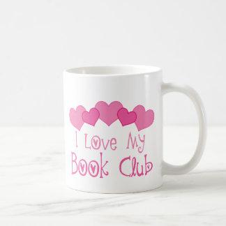 Amo a mi círculo de lectores taza básica blanca