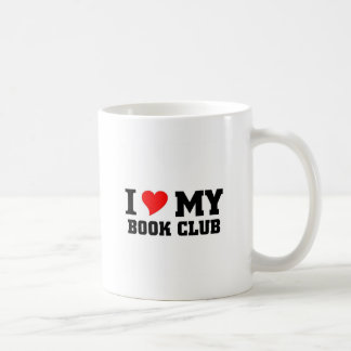 Amo a mi círculo de lectores tazas de café