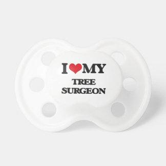 Amo a mi cirujano de árbol chupete de bebe