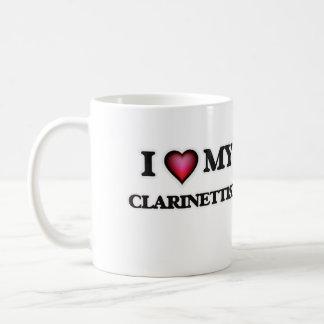 Amo a mi clarinetista taza