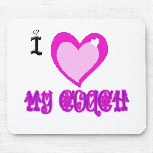 Amo a MI COCHE Alfombrilla De Ratones