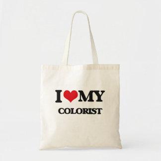Amo a mi Colorist Bolsas