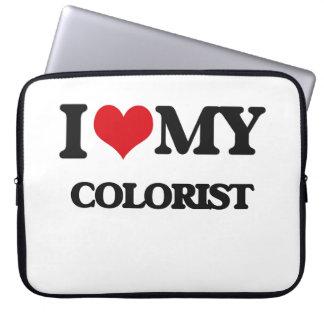 Amo a mi Colorist Funda Portátil
