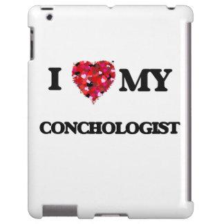 Amo a mi Conchologist Funda Para iPad
