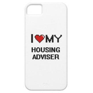 Amo a mi consejero de la vivienda iPhone 5 carcasas