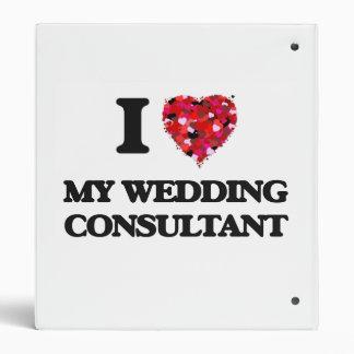 """Amo a mi consultor del boda carpeta 1"""""""
