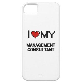 Amo a mi consultor en administración de empresas iPhone 5 Case-Mate cobertura