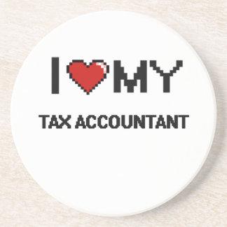 Amo a mi contable del impuesto posavaso para bebida