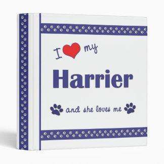 "Amo a mi corredor de cross (el perro femenino) carpeta 1"""