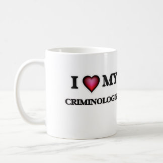 Amo a mi criminalista taza de café