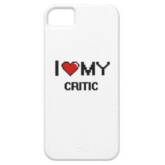 Amo a mi crítico iPhone 5 funda