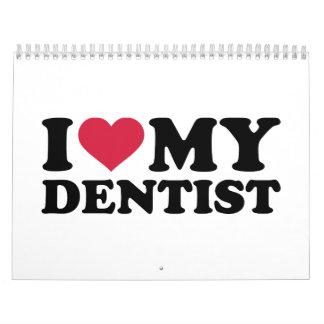 Amo a mi dentista calendarios