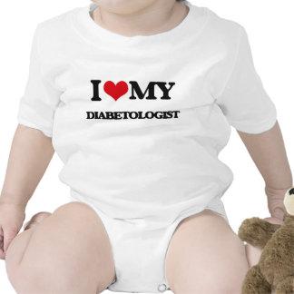 Amo a mi Diabetologist Trajes De Bebé