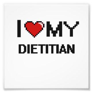 Amo a mi dietético fotografia