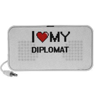 Amo a mi diplomático iPhone altavoces