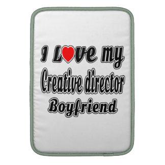 Amo a mi director creativo. Novio Funda Macbook Air