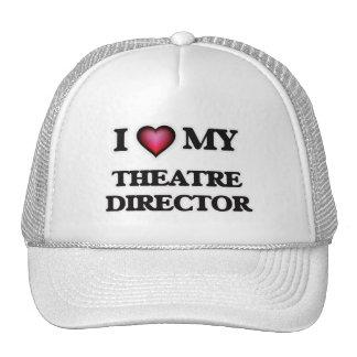 Amo a mi director del teatro gorros bordados