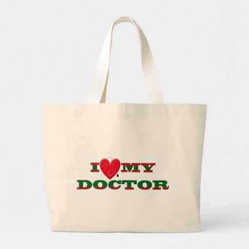 AMO A MI DOCTOR BOLSA TELA GRANDE