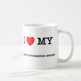 Amo a mi DOCUMENTALISTA de las CARRERAS Taza De Café