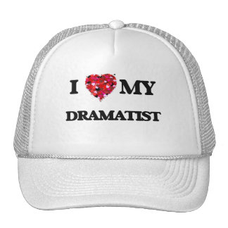 Amo a mi dramaturgo gorras