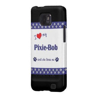 Amo a mi Duendecillo-Bob (el gato femenino) Samsung Galaxy SII Carcasa