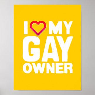 AMO A MI DUEÑO GAY - - .PNG POSTERS