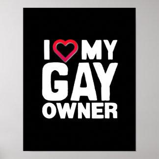 AMO A MI DUEÑO GAY - - .PNG IMPRESIONES