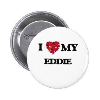Amo a mi Eddie Pin Redondo 5 Cm