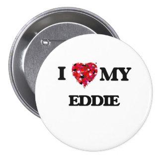 Amo a mi Eddie Pin Redondo 7 Cm