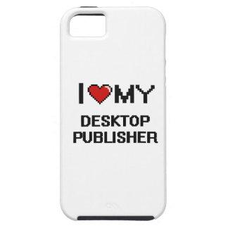 Amo a mi editor de escritorio iPhone 5 fundas