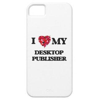 Amo a mi editor de escritorio iPhone 5 carcasa