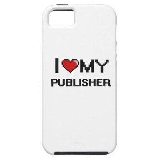 Amo a mi editor iPhone 5 carcasa