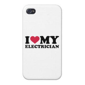 Amo a mi electricista iPhone 4/4S funda